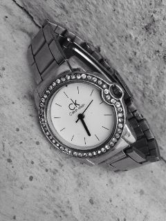 monochrome ck wristwatch white blackandwhite