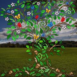 assemblyapp vector vectorart trees digitalart
