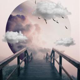 surrealistgate clouds edit birds clipart