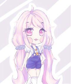 kawaii drawing chibi oc anime