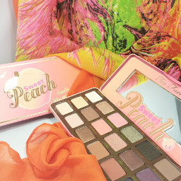 makeup sweetpeach palette toofaced maquillage