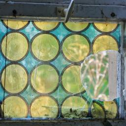 lostplaces school window