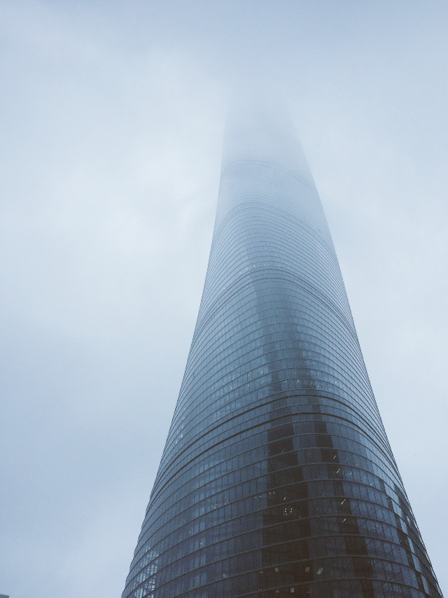 #architecture #urban #shanghai #clouds #cityscape #FreeToEdit