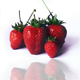 strawberries fruit freetoedit photography dpcreflections