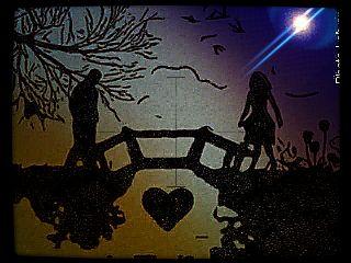girl boy love separation night