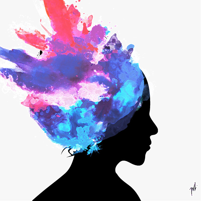 #silhouette #splashofcolor #clipart #madewithpicsart
