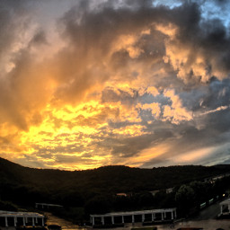 freetoedit sundown sky