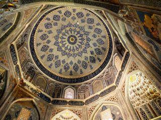 lookup architecture travel mosque uzbekistan