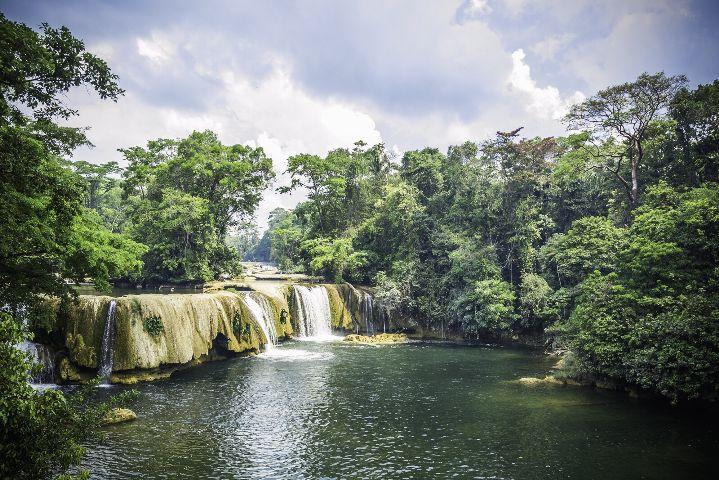 guatemala waterfall nature landscape nikon
