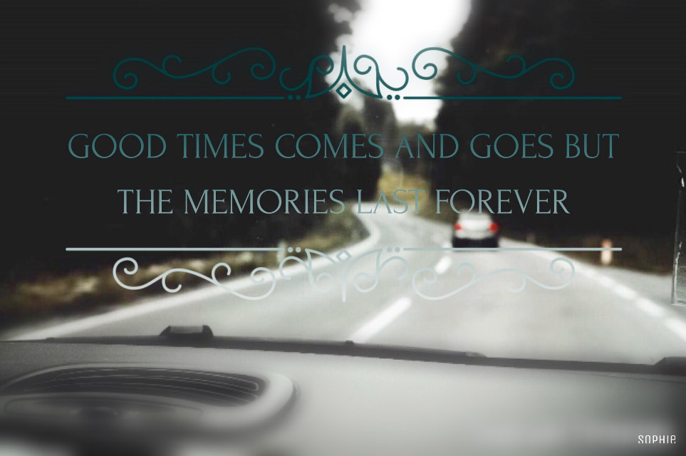 FTE original image by @stephenivel   #editedbyme #quotesandsayings #colourgradient #nature #photography #blurred #car #road