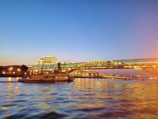 moscow river cityscape travel
