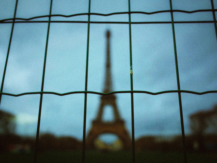 Paris, France #urban #colors #tower #city #lightandshadow #FreeToEdit