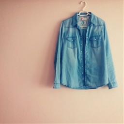 shirt jean blue minimal minimalism freetoedit