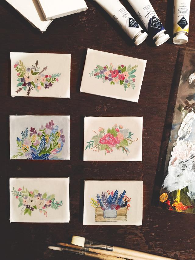 #FreeToEdit #painting #flower #drawing #art