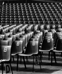 blackandwhite chair numbers photography