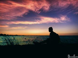 freetoedit sunset silhouette dpchappyplace