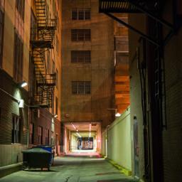 alley alleyway downtown okc oklahomacity