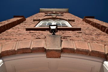 brick building architecture freetoedit