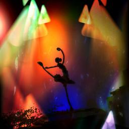 dance light colors lifestyle triangle wapneonlights