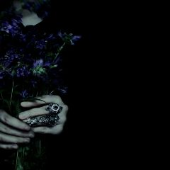 vsco flowers hands