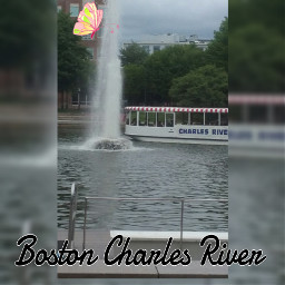 charlse river boatride waterfall watereffect day