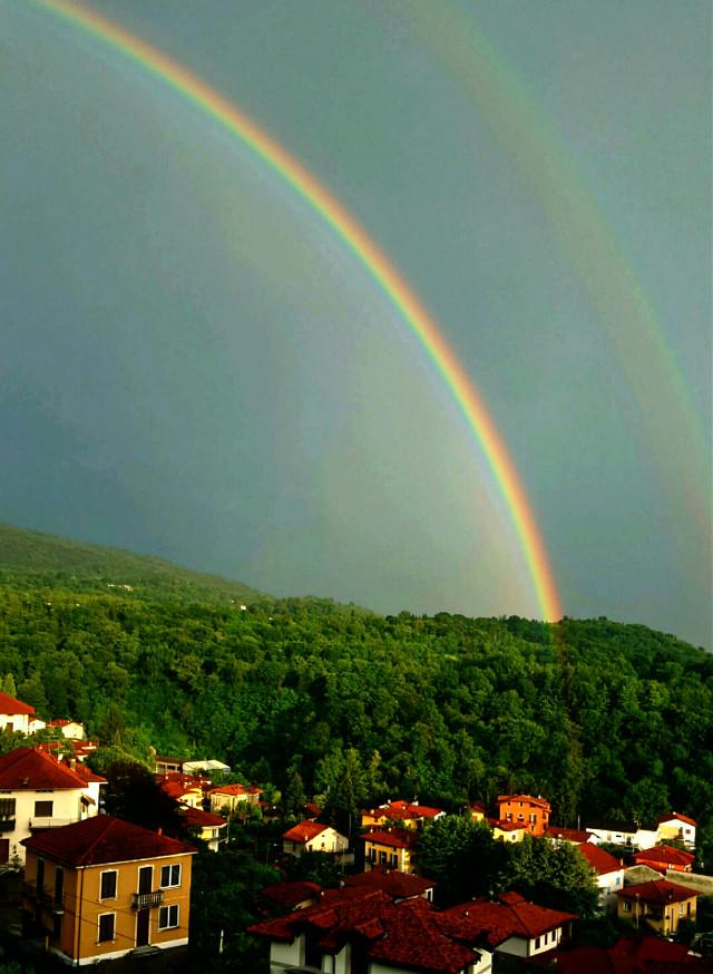 #FreeToEdit #arcobaleno