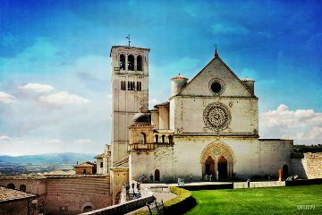 italy umbria assisi travel summer
