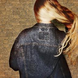 freetoedit hair jeansjacket