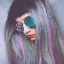 FreeToEdit colorful girl swag