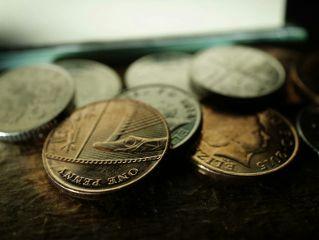 macro coins money
