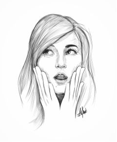 freetoedit blackandwhite love people drawing