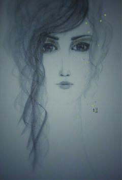 drawing portrait pencil hair emotions