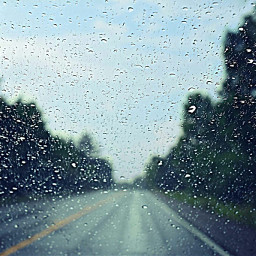 rain road dropsofrain window vanishingpoint