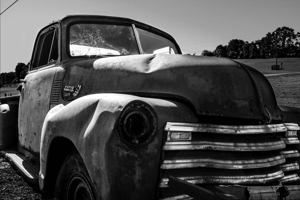 #blackandwhite #vintage #americana #chevy #cool #truck